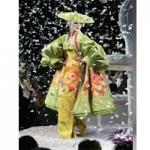 افتتاح نمایشگاه کیمونو، لباس سنتی ژاپن، در لندن